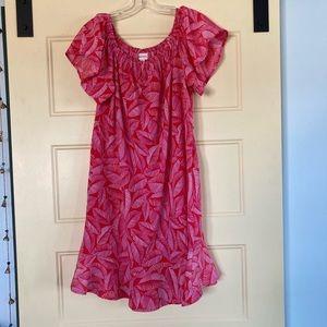 Merona Sun Dress with Flutter Sleeves